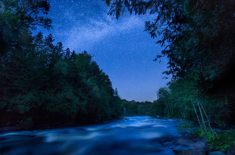 Midsummer Night on the Wolf River
