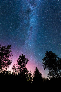 Northern Lights and Milky Way - Elton, Wisconsin