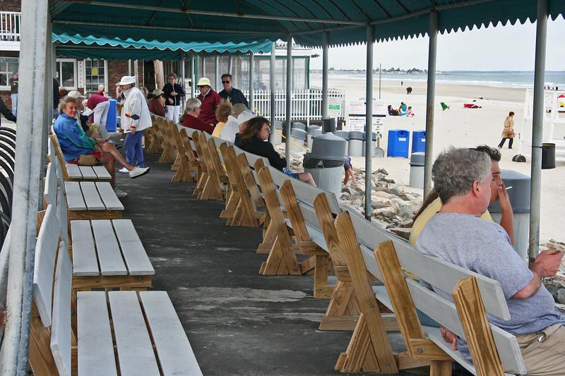 ogunquit beach benches