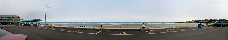 ogunquit beach Panorama