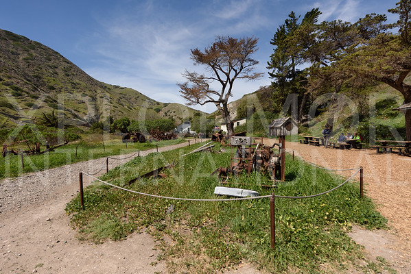 Scorpion Ranch on Santa Cruz Island
