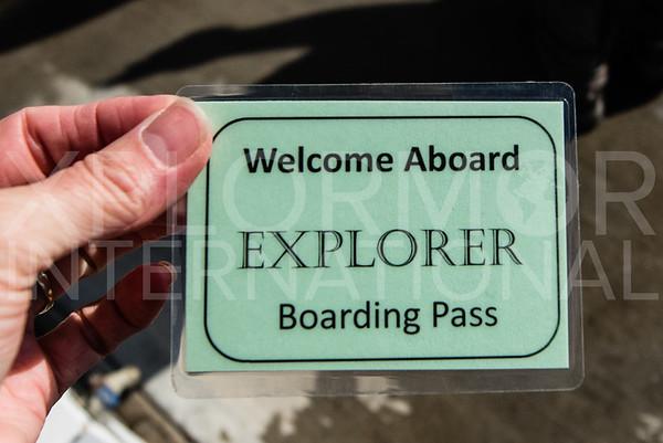 Island Explorer Boarding Pass