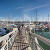 Beautiful Day at the Boat Docks in Ventura Harbor