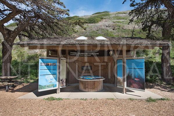 Santa Cruz Island Information Kiosk