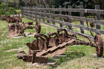 Rusted Farm Equipment at Scorpion Ranch