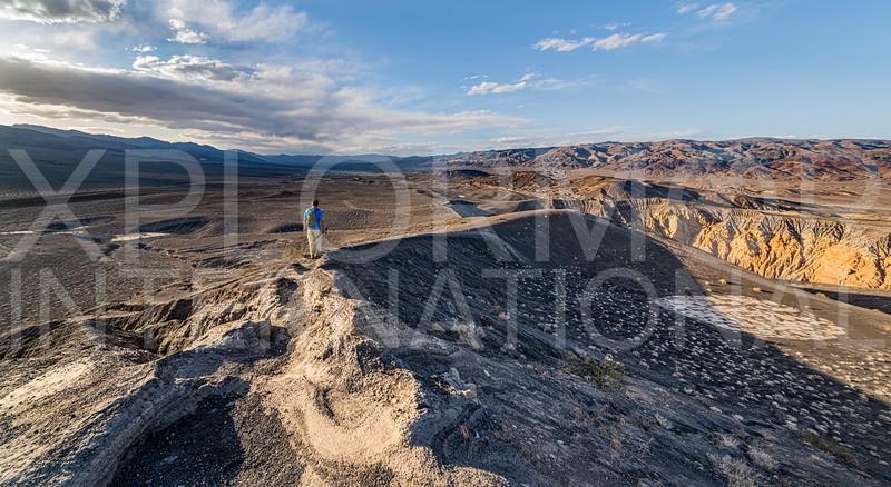 Ubehebe Crater Rim Trail