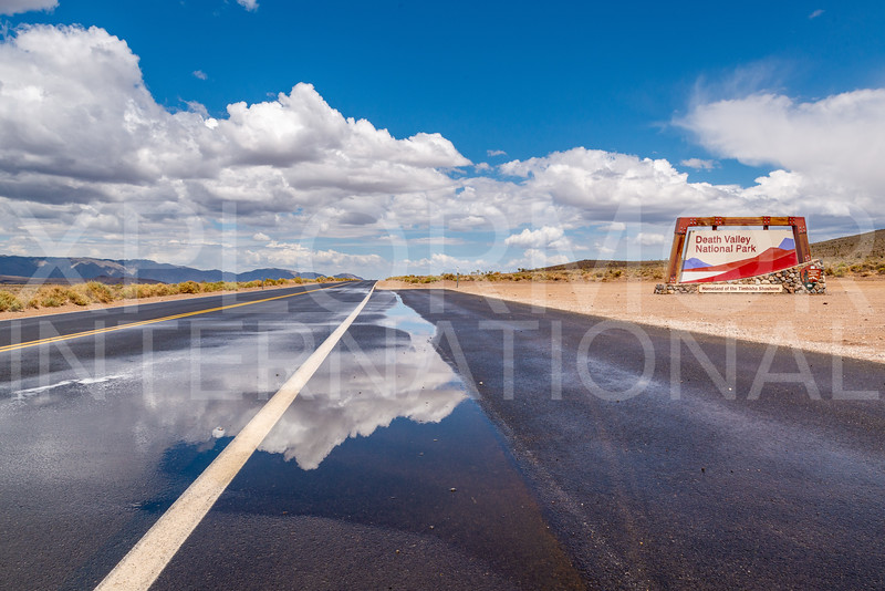 Death Valley National Park Entrance Sign