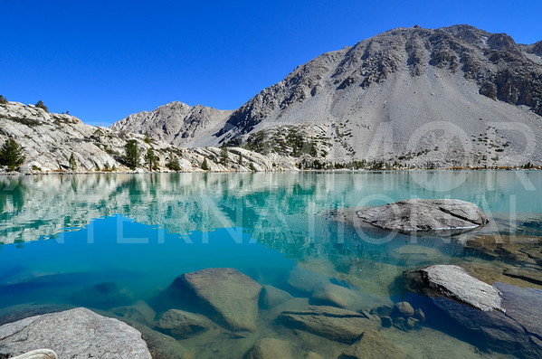 Glacial Waters of Second Lake
