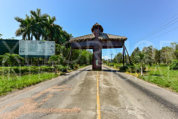 Zapata Park Entrance