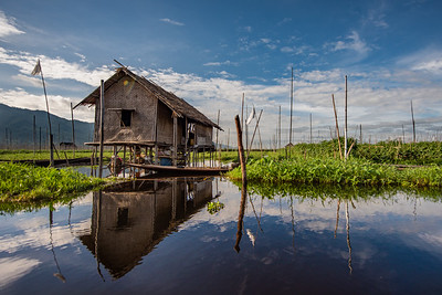 Floating Vegetable Gardens of Inle Lake