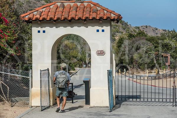 Entrance Gate at Wrigley Gardens