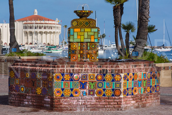 Catalina Tile Fountain