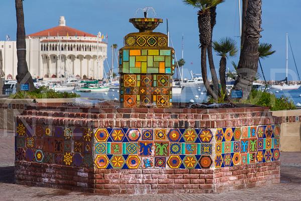 Catalina Tile Fountain
