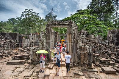 Southern Entrance Gate to Bayon Temple