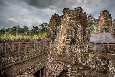 Compassionate Faces at Bayon Temple