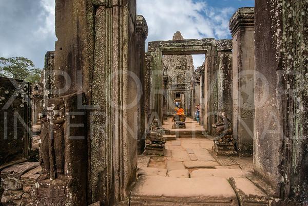 North Entrance to Bayon Temple