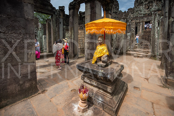 Buddha Statue at Bayon Temple