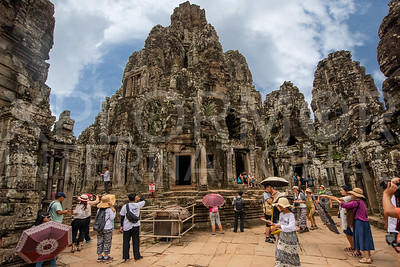 Temple Towers at Bayon Temple