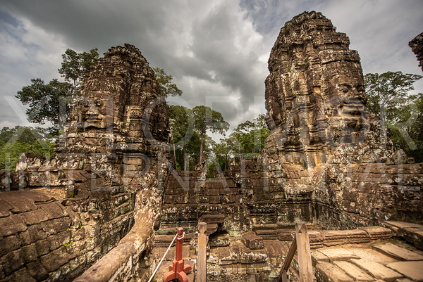 Compassionate Face at Bayon Temple