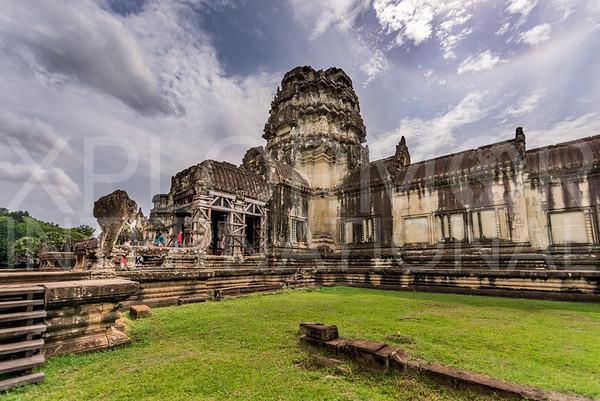 Stone Tower at Angkor Wat