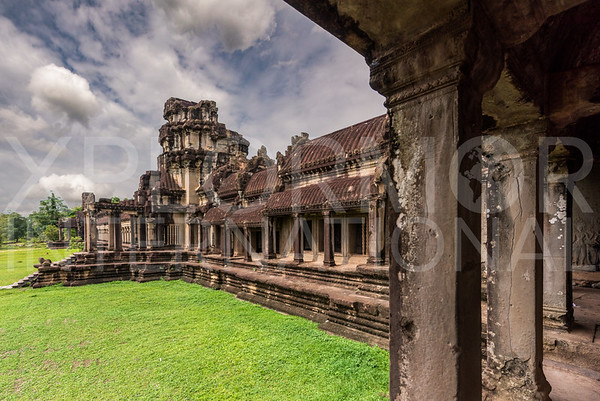 Outer Gallery at Angkor Wat