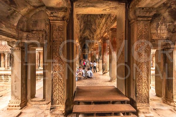 Inner Gallery Hall at Angkor Wat