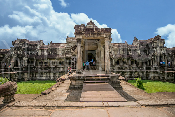 West Entrance at Angkor Wat
