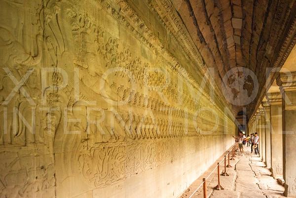 Battle Scene at Angkor Wat