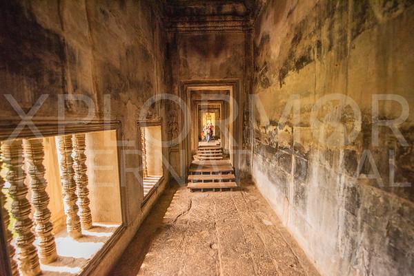 Gallery Hallway at Angkor Wat