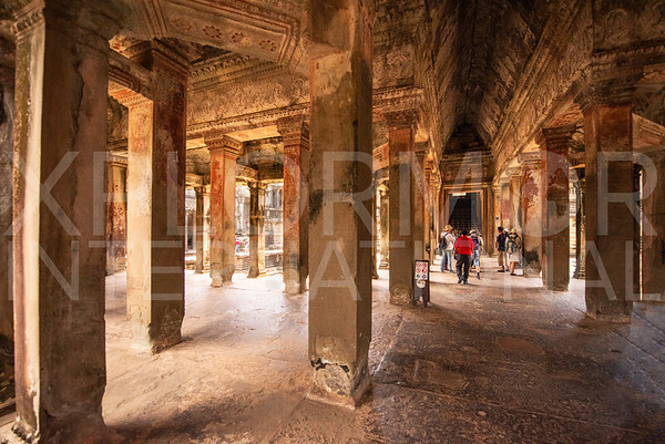 Inner Gallery at Angkor Wat