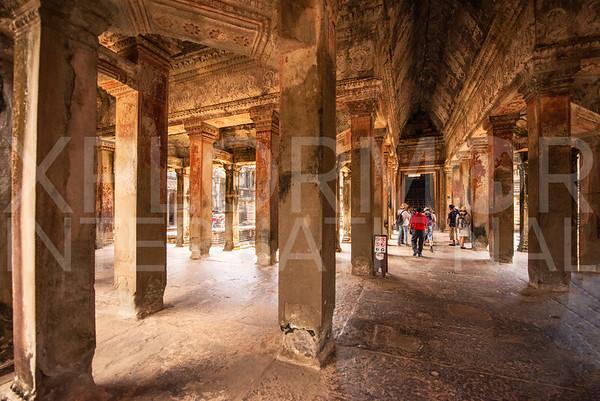Inner Gallery at Angkor Wat