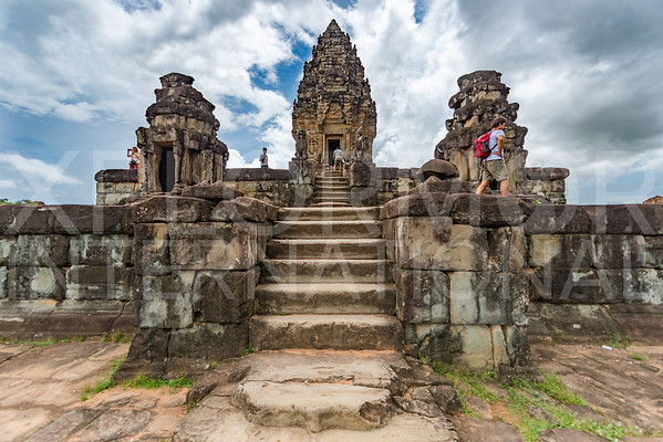 Fourth Level at Wat Bakong