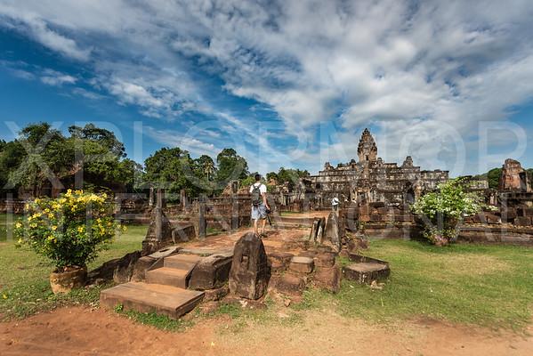 Eastern Gopura at Wat Bakong