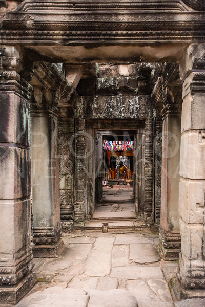 Hallway at Banteay Kdei