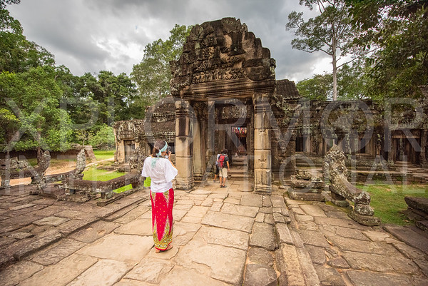 Inner East Gate at Banteay Kdei