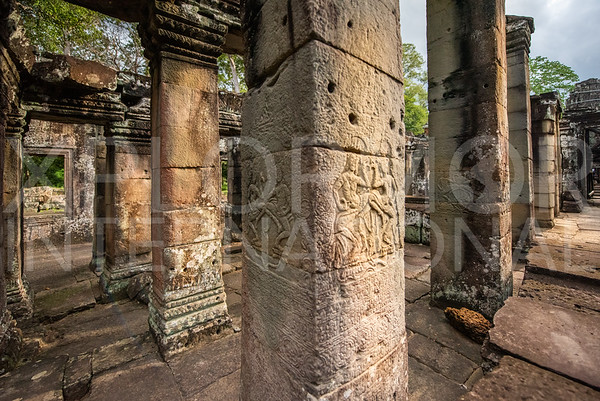 Hall of Dancers at Banteay Kdei