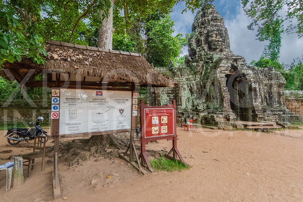 East Gate Entrance at Banteay Kdei