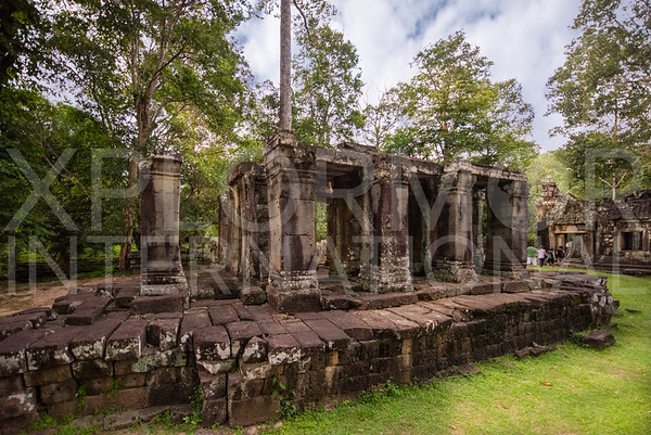 Ancient Libarary at Banteay Kdei