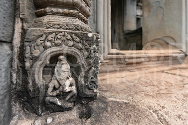 Carved Stone Vishnu