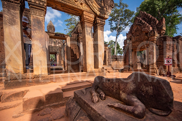 Shiva's Bull Nandi at Banteay Srei
