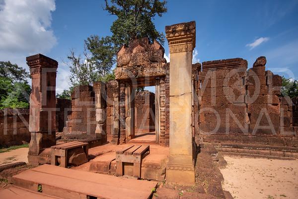 East Gopura IV at Banteay Srei