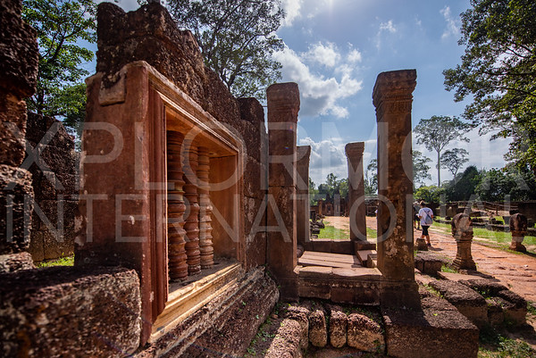 Spindles at Banteay Srei