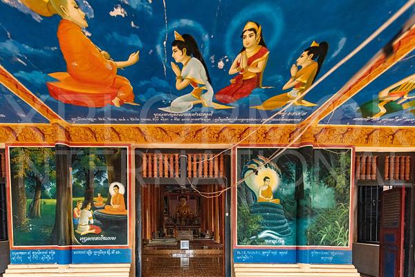Modern Buddhism Murals at Lolei