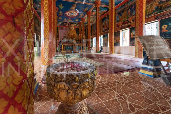 Modern Buddhist Monastery at Lolei