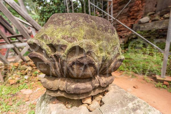 Stone Lotus Finial