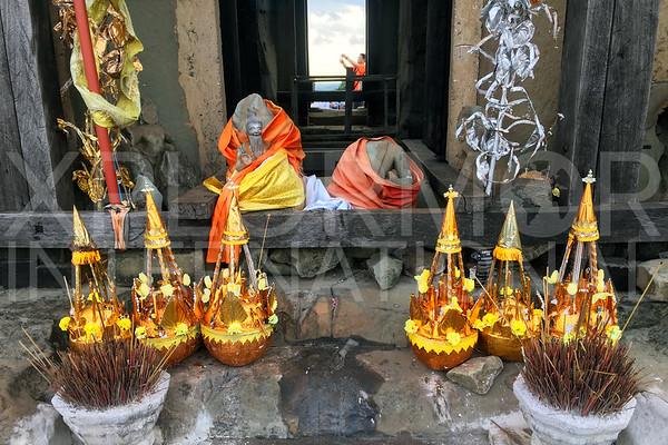 Prayer Offerings at Phnom Bakheng