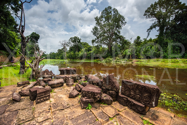 Moat at Preah Khan Temple