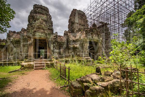 Eastern Entrance Gate to Preah Khan Temple
