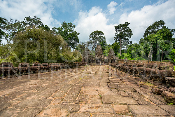 Eastern Causeway to Preah Khan Temple