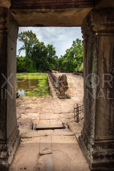 Eastern Entrance Gate to Preah Khan Temple